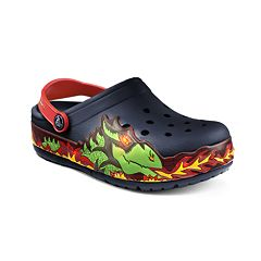 Crocs Fire Dragon Kids' Light-Up Clogs