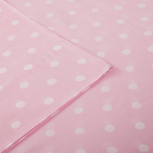 Mi Zone Polka Dot Percale Cotton Sheet Set