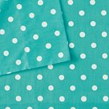 Mi Zone Polka Dot Percale Cotton Antimicrobial Sheet Set
