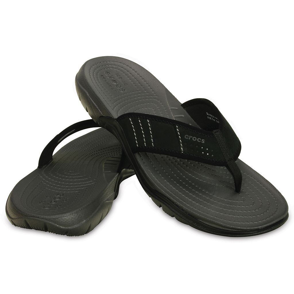 Crocs Swiftwater Men's Water-Resistant Flip-Flops