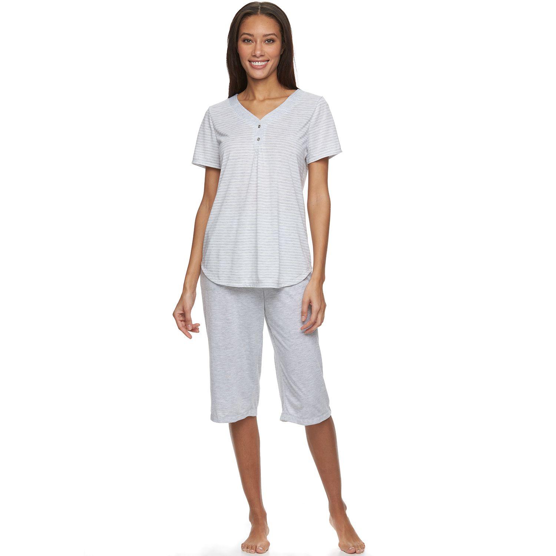 Womens Croft & Barrow? Pajamas: Relaxing Moments Pajama Set