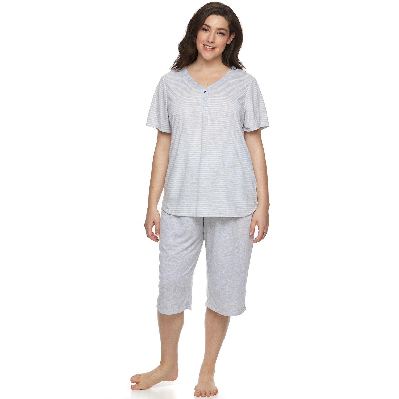 Plus Size Croft & Barrow? Pajamas: Relaxing Moments Pajama Set