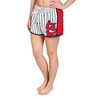 Women's Forever Collectibles St. Louis Cardinals Striped Shorts