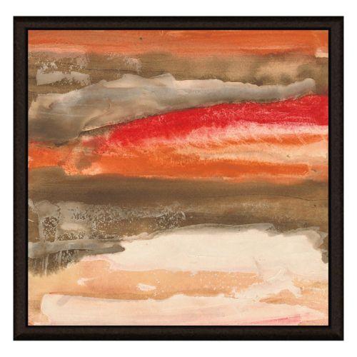 Red Sky I Canvas Framed Canvas Wall Art