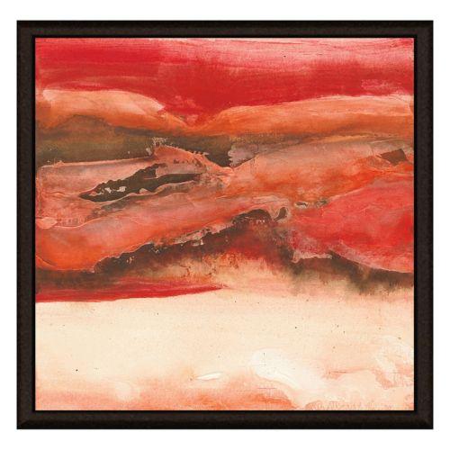 Red Sky II Canvas Framed Canvas Wall Art