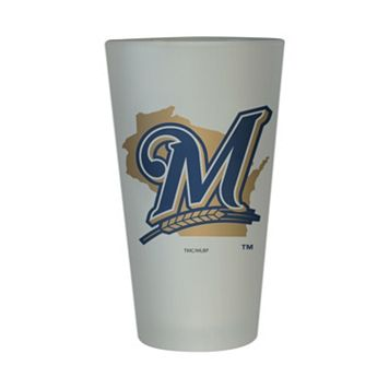 Milwaukee Brewers Frosted Pint Glass