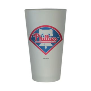 Philadelphia Phillies Frosted Pint Glass