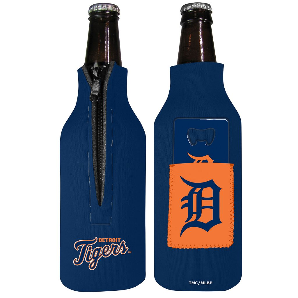 Detroit Tigers Bottle Cover & Opener Set
