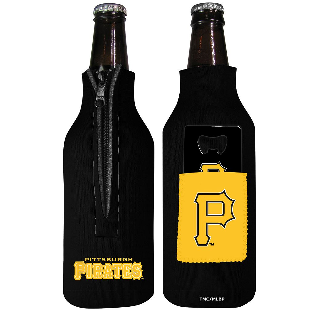 Pittsburgh Pirates Bottle Cover & Opener Set