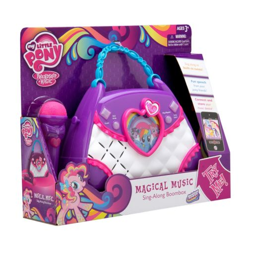 My Little Pony Magical Music Sing-Along Boombox by Kid Designs