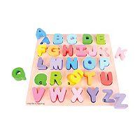 Bigjigs Toys Chunky Uppercase Alphabet Puzzle