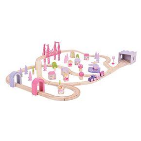 Bigjigs Toys Fairy Town Train Set