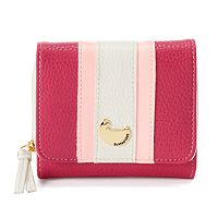 Buxton Patchwork Zip Wallet