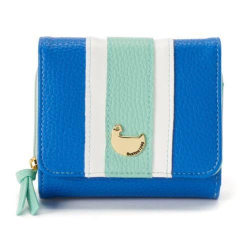 Buxton Patchwork Zip Wallet