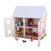 Bigjigs Toys Rose Cottage Dollhouse