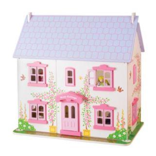 Bigjigs Toys Rose Cottage Dollhouse