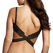 Maidenform Wide 3-Hook Low-Back Bra Converter Straps M4002