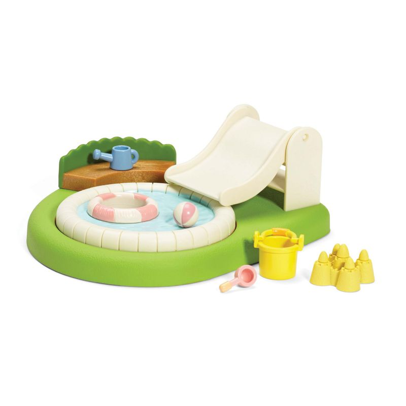 Calico Critters Baby Pool & Sandbox Playset, Multicolor