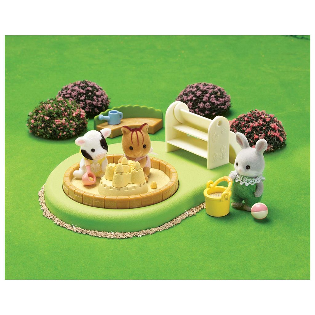Calico Critters Baby Pool & Sandbox Playset