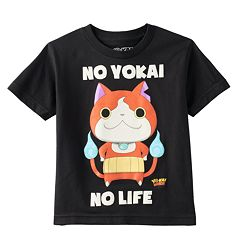 Boys 4-7 Yo-Kai Watch Jibanyan 'No YoKai No Life' Tee