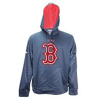 Men's Stitches Boston Red Sox Embossed Performance Fleece Hoodie