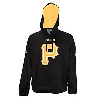 Men's Stitches Pittsburgh Pirates Embossed Performance Fleece Hoodie