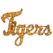 Missouri Tigers Recycled Metal Lighted Wall Décor
