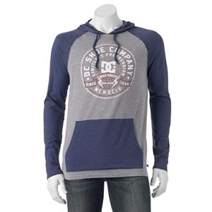 Men's DC Shoe Co Raglan Hooded Tee