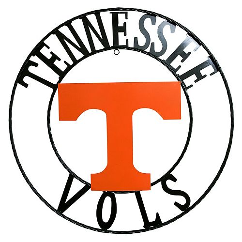 Tennessee Volunteers Wrought Iron Wall Décor