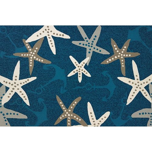 United Weavers Atrium Anchors Away Nautical Rug