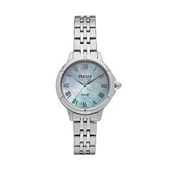 Pulsar Women's Easy Style Stainless Steel Solar Watch - PY5005