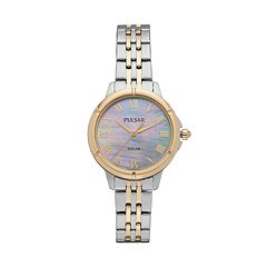 Pulsar Women's Easy Style Stainless Steel Solar Watch