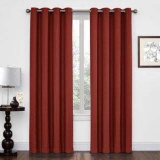 Regent Court Textured Solid Window Curtain