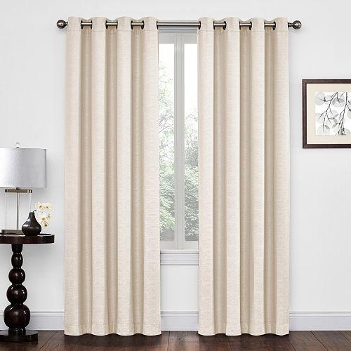 Regent Court Textured Solid Window Curtain
