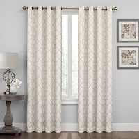Regent Court Embroidered Lattice Curtain