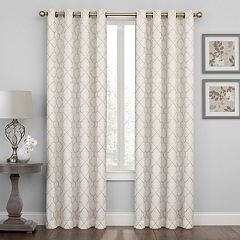 Regent Court Embroidered Lattice Window Curtain