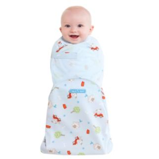 Baby Boy HALO Swaddlesure Print Adjustable Swaddle