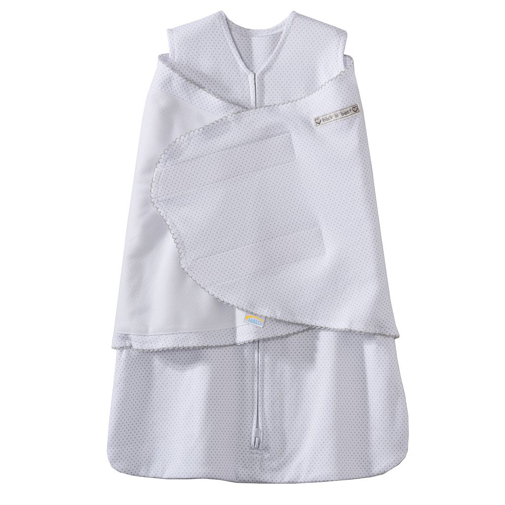 Baby HALO SleepSack Pin-Dot Swaddle