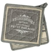 Hotel Petit Paradis 2-pc. Potholder Set