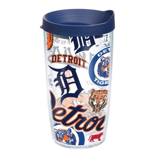 Tervis Detroit Tigers 16-Ounce Logo Tribute Tumbler