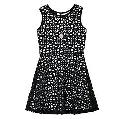 Girls 7-16 IZ Amy Byer Cutout Skater Dress