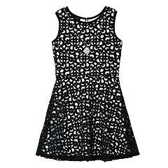 Girls 7-16 IZ Amy Byer Cutout Skater Dress