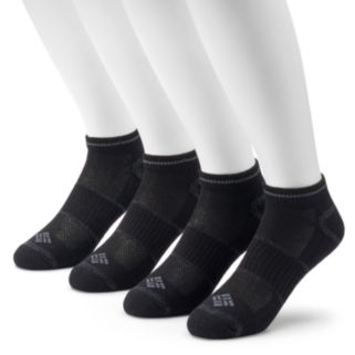 Men's Columbia 4-pack Lightweight Low-Cut Socks