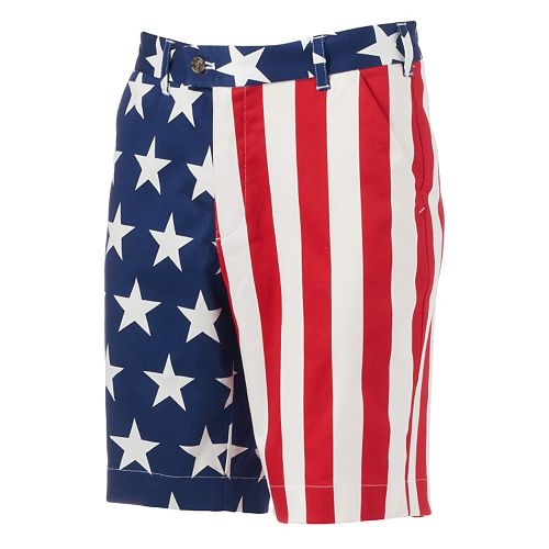 Men's Loudmouth Golf Stars & Stripes Shorts