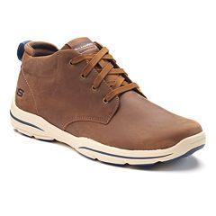 Skechers Relaxed Fit Harper Melden Men's Ankle Boots