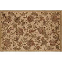 Rugs America Capri Orchid Floral Rug
