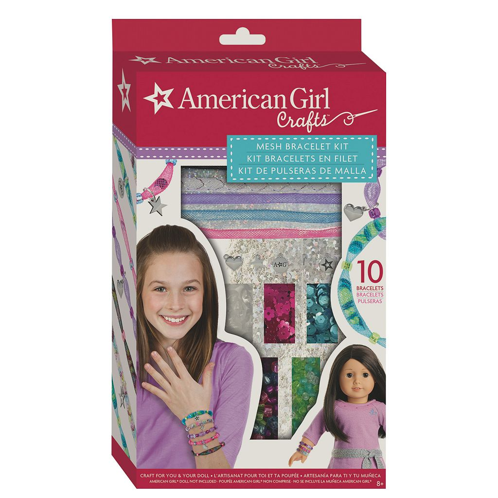 American Girl Crafts Mesh Bracelet Kit by Fashion Angels