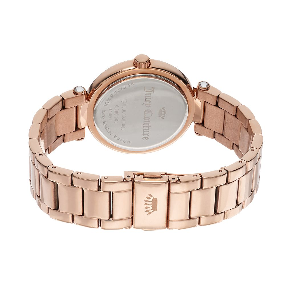 Juicy Couture Women's Sienna Crystal Stainless Steel Watch
