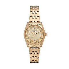 Pulsar Women's Night Out Crystal Stainless Steel Watch