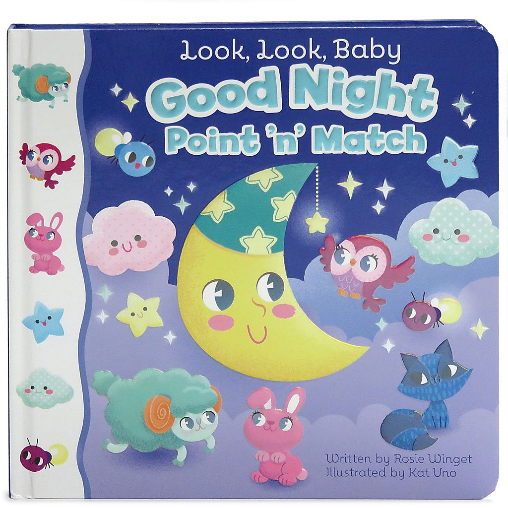 Look, Look, Baby Good Night Point n' Match Book